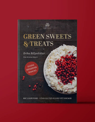 "Bokomslag av ""Green sweets and treats"""